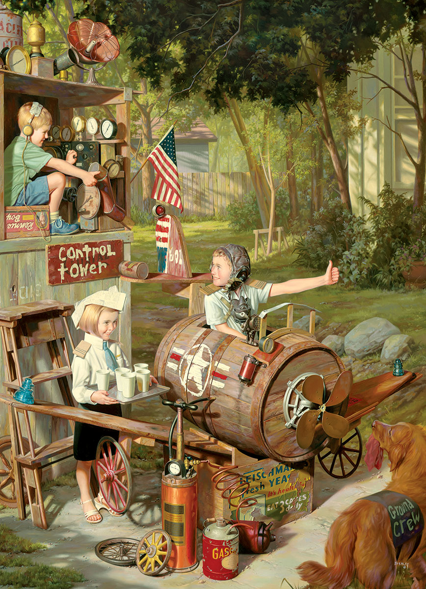 The Barnstormers - Scratch and Dent Summer Jigsaw Puzzle