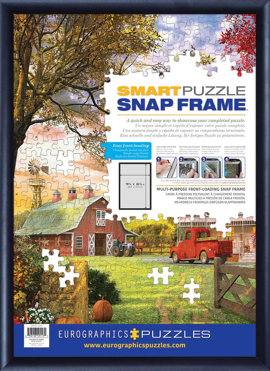 Snap Frame - Black Aluminum
