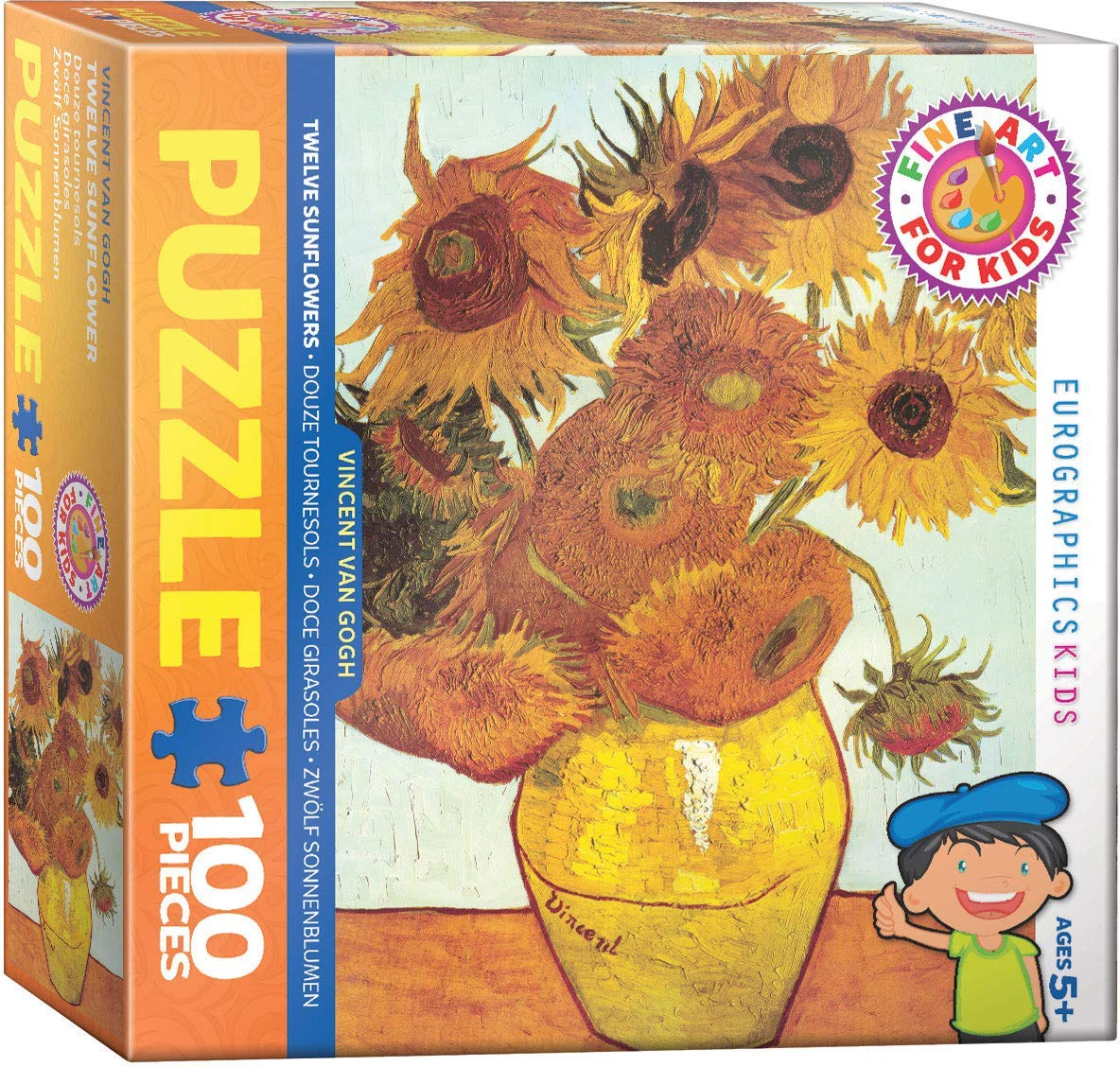 Twelve Sunflowers Fine Art Jigsaw Puzzle