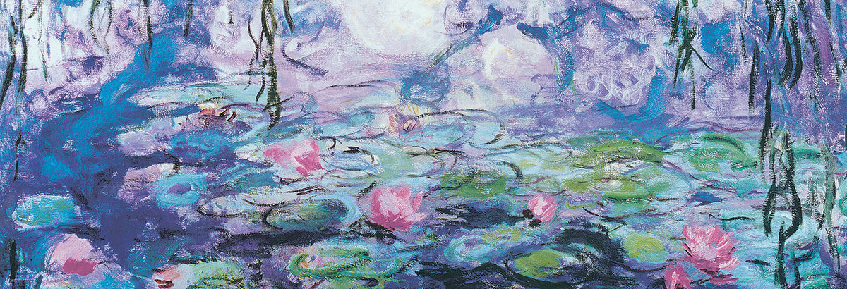 Waterlillies by Claude Monet Impressionism Jigsaw Puzzle