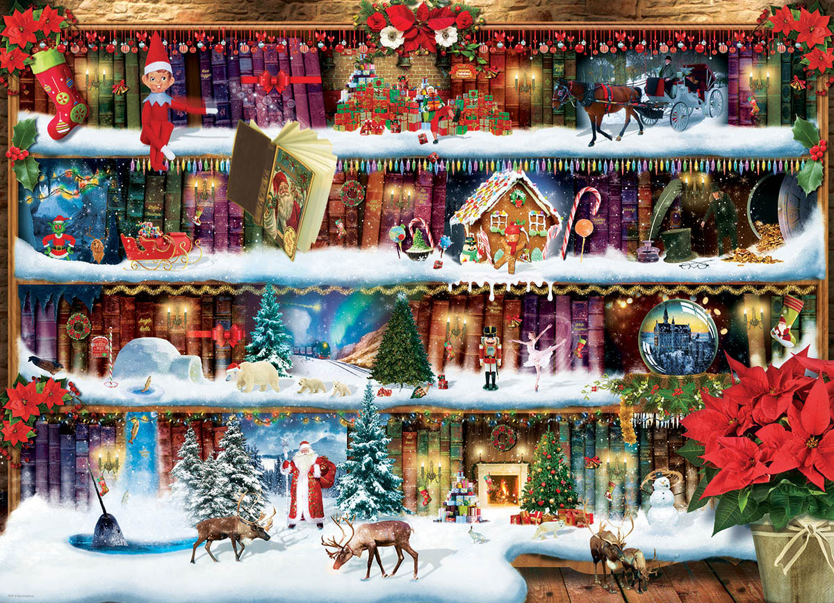 Christmas Tales Winter Jigsaw Puzzle