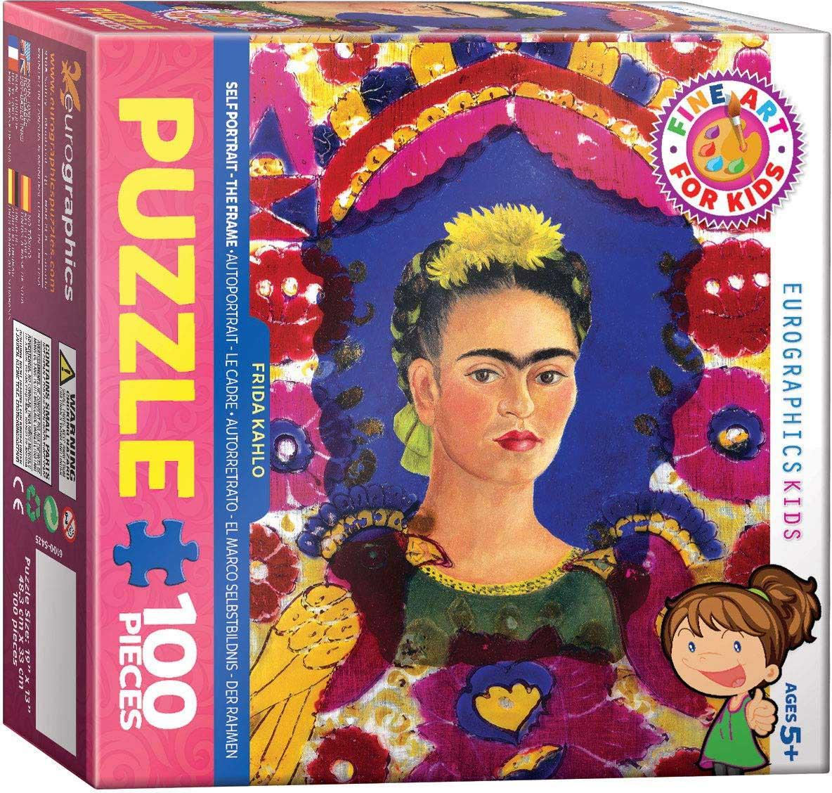 Frida Self Portrait Fine Art Jigsaw Puzzle