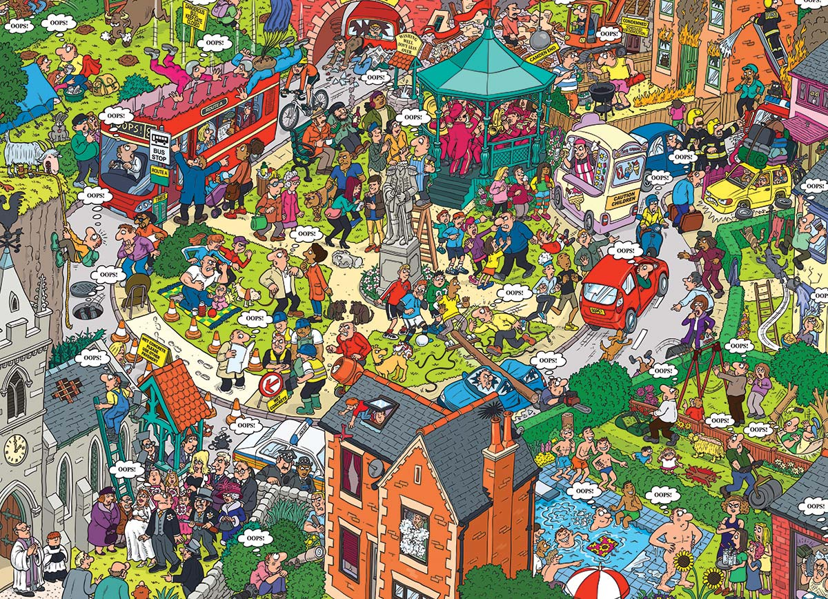 What Could Go Wrong? Cartoons Jigsaw Puzzle