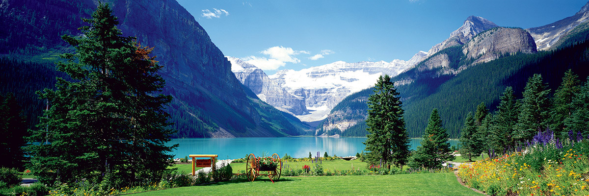 Lake Louise, Canadian Rockies Mountains Jigsaw Puzzle