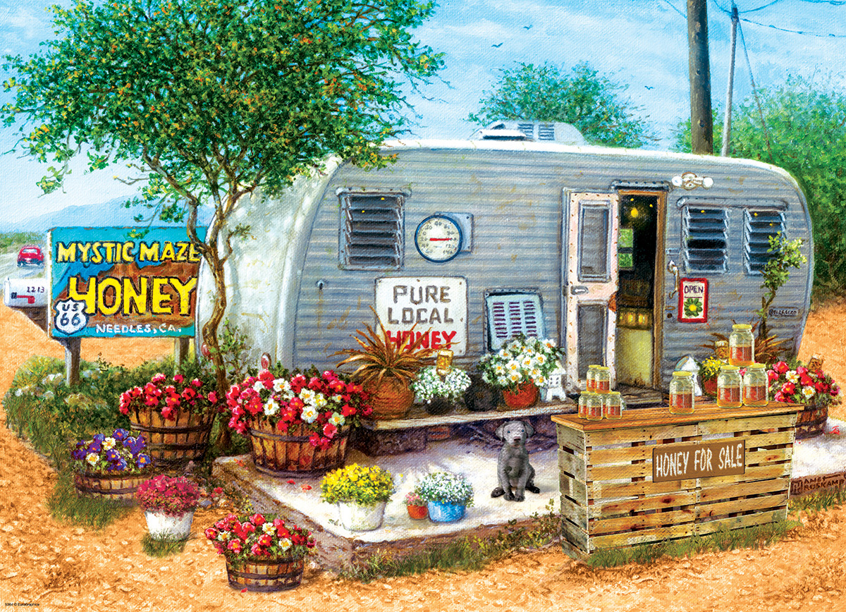 Honey for Sale Vehicles Jigsaw Puzzle