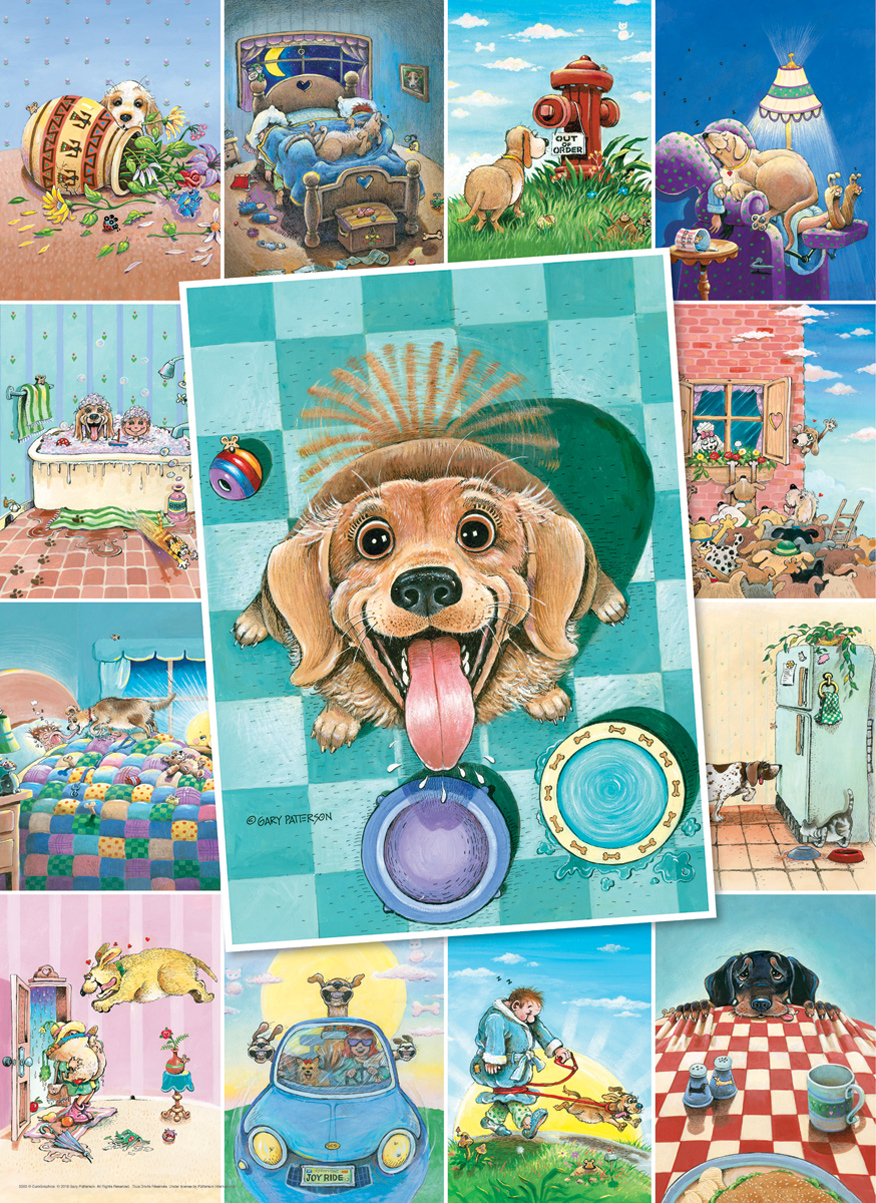 Dog's Life Dogs Jigsaw Puzzle
