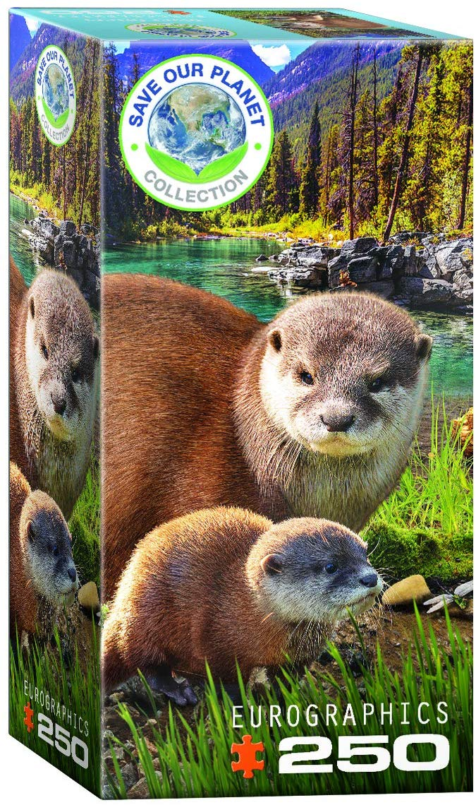 Otter Animals Jigsaw Puzzle