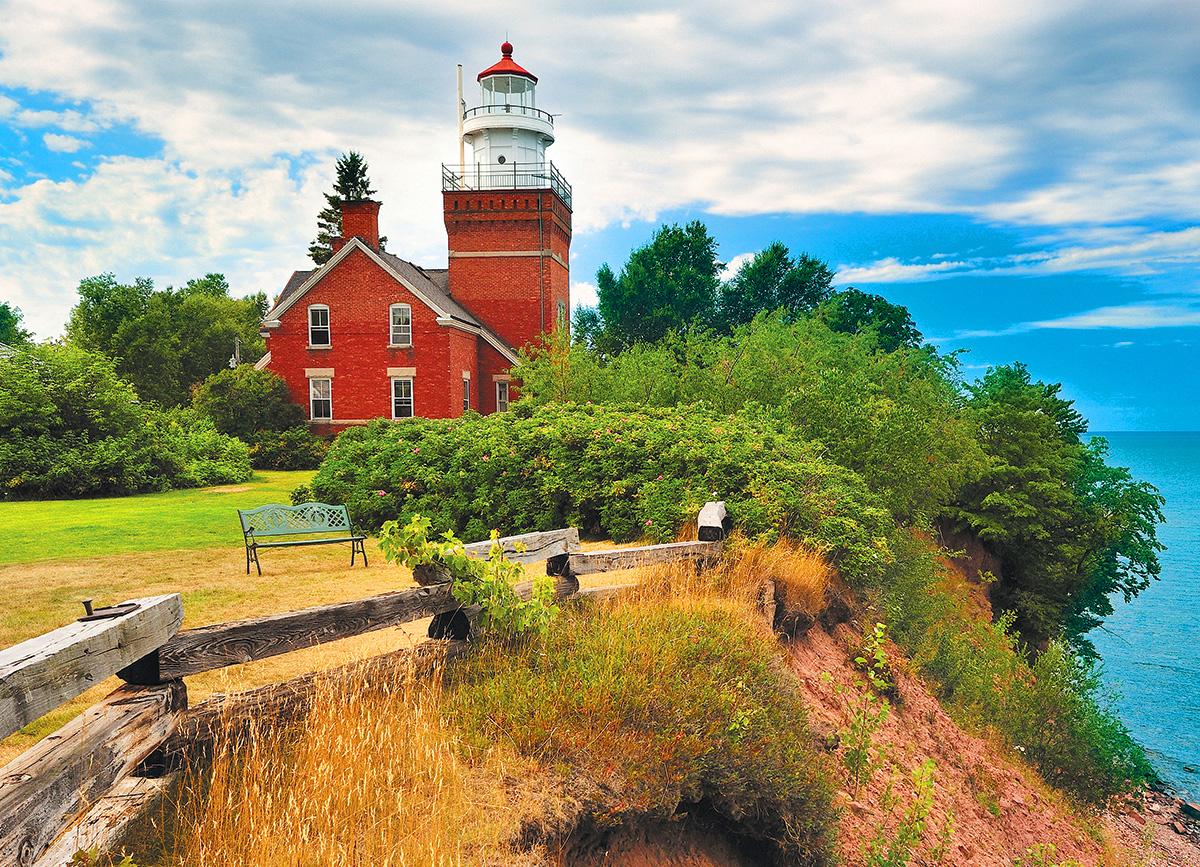 Big Bay Lighthouse, MI Lighthouses Jigsaw Puzzle