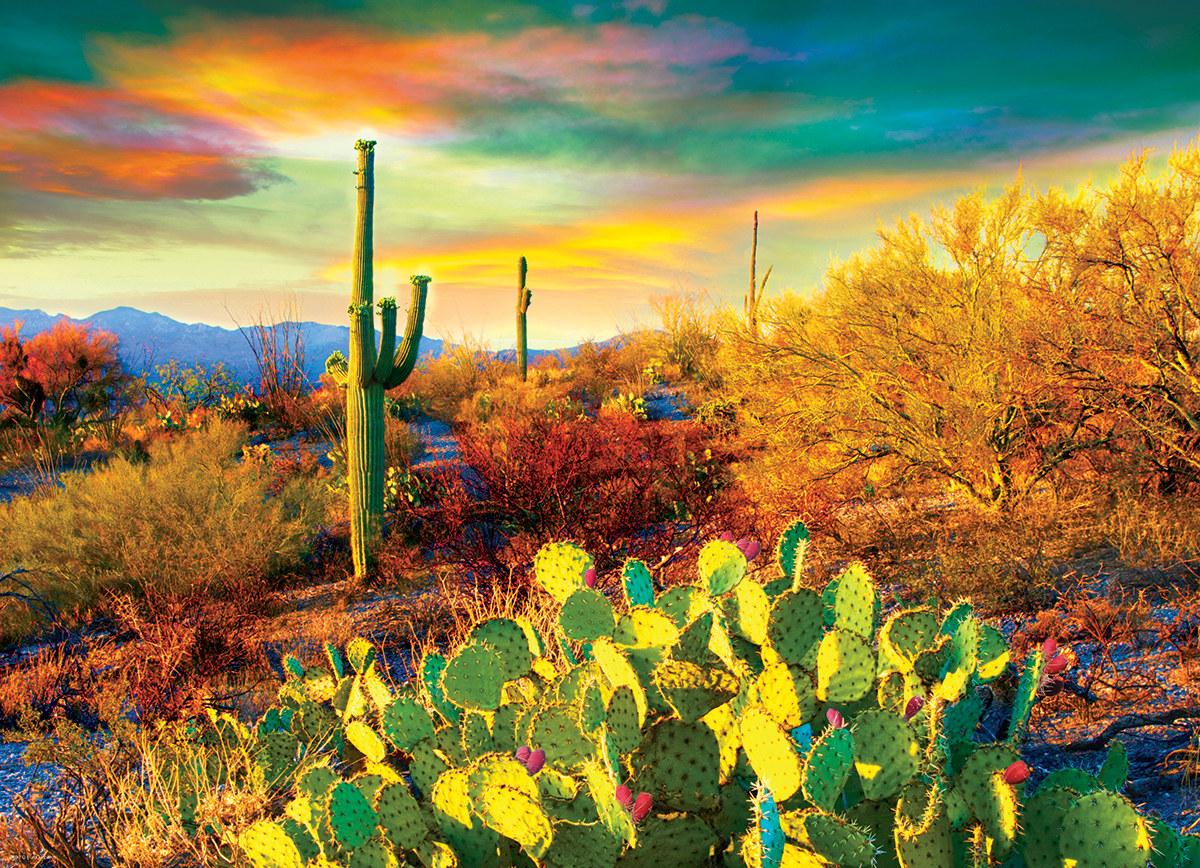 Desert Dreams Landscape Jigsaw Puzzle