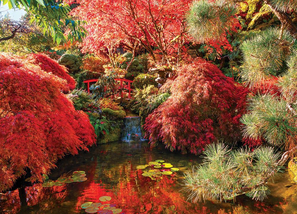 Japanese Garden Garden Jigsaw Puzzle