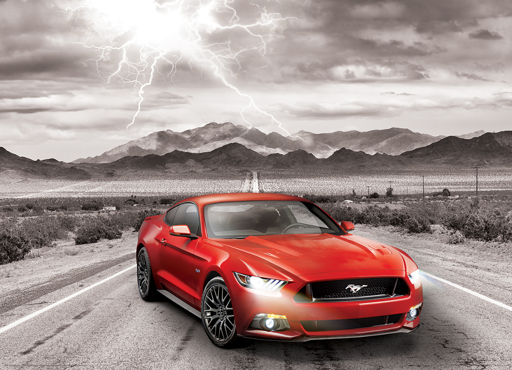 2015 Ford Mustang GT - Scratch and Dent Cars Jigsaw Puzzle