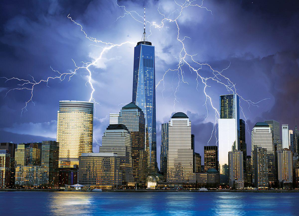 New York City - World Trade Center Skyline / Cityscape Jigsaw Puzzle