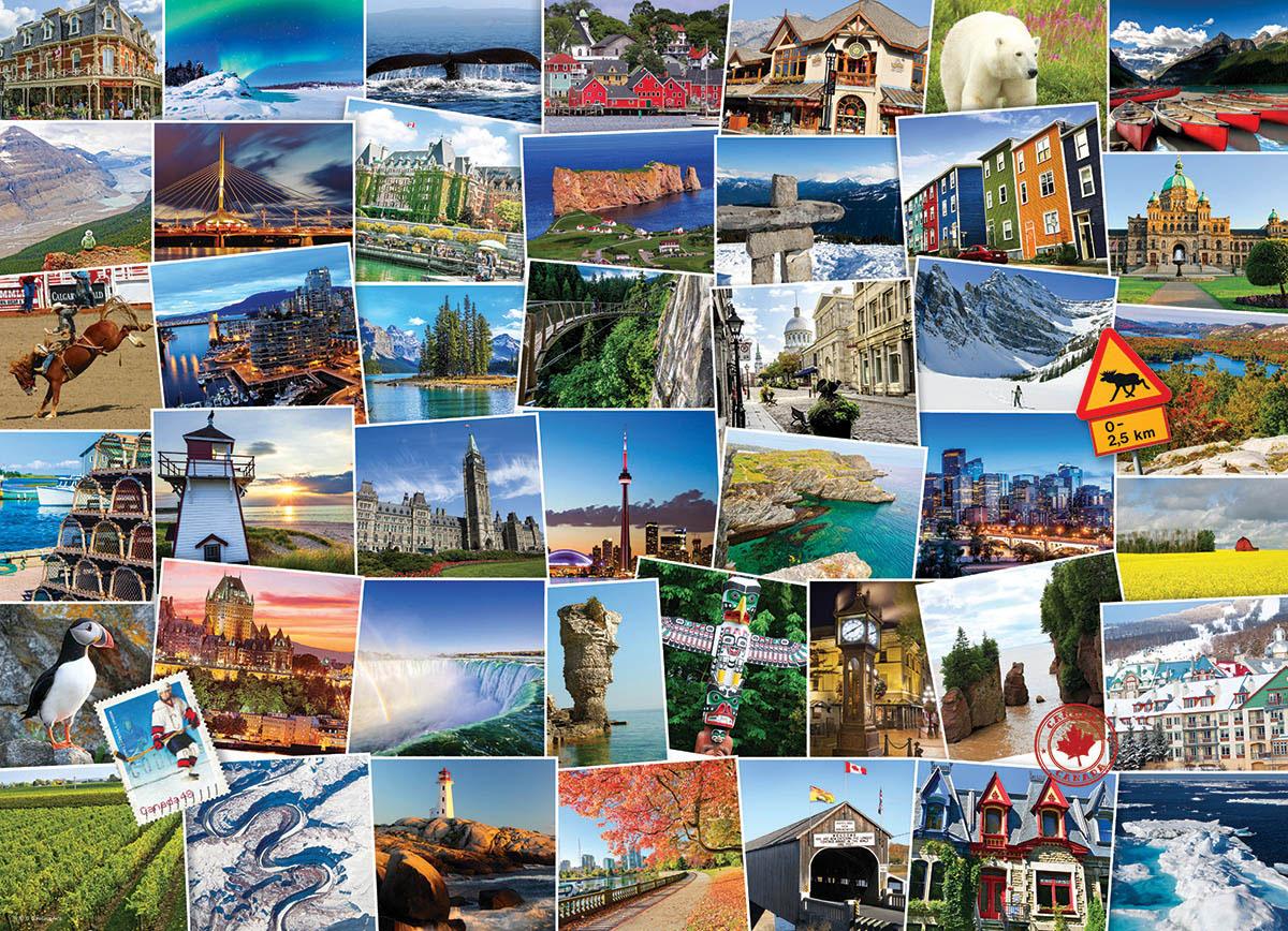 Globetrotter Canada Canada Jigsaw Puzzle