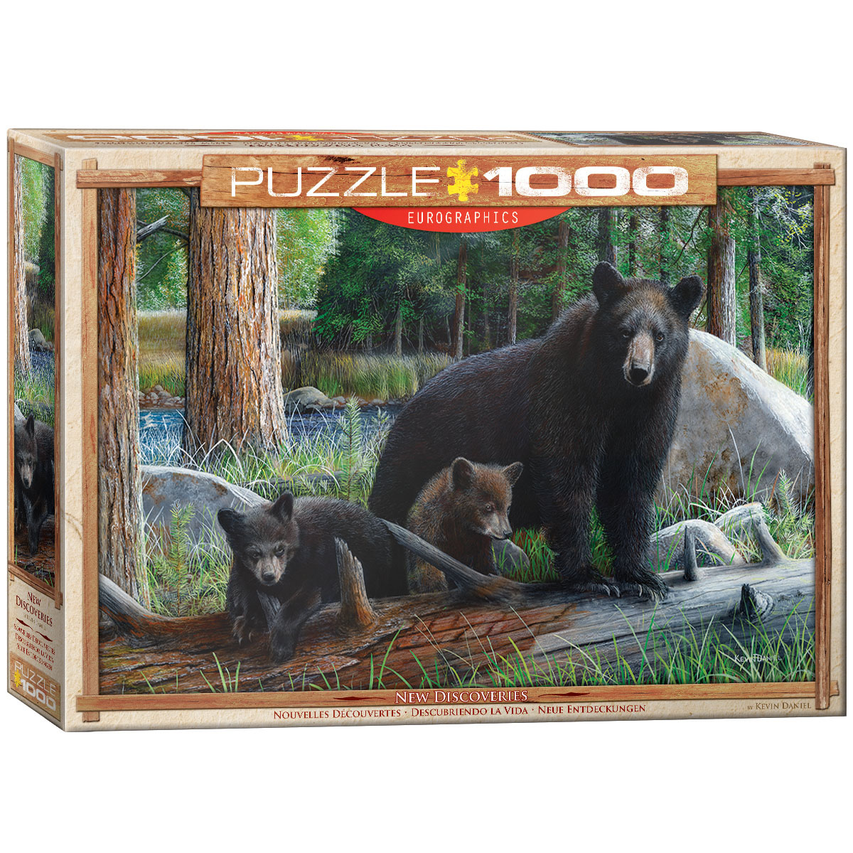 New Discoveries Bears Jigsaw Puzzle