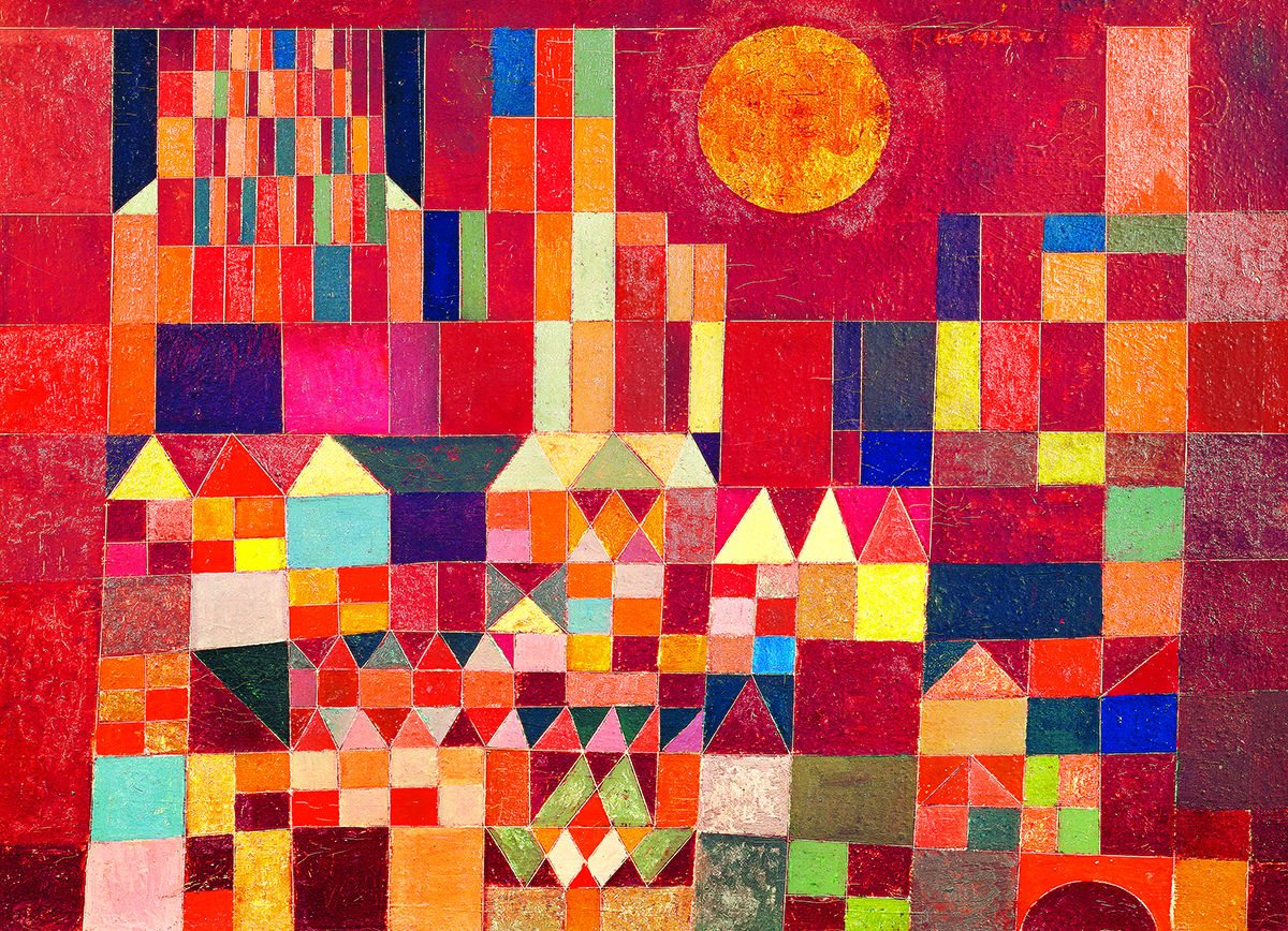 Castle and Sun Fine Art Jigsaw Puzzle