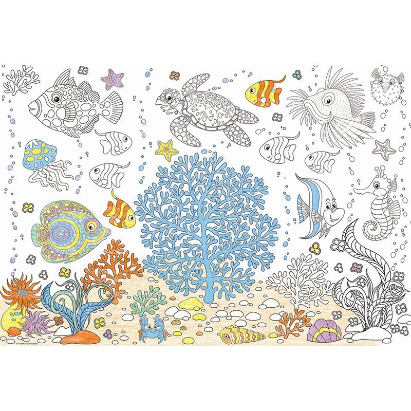 Aquarium - Scratch and Dent Fish Jigsaw Puzzle