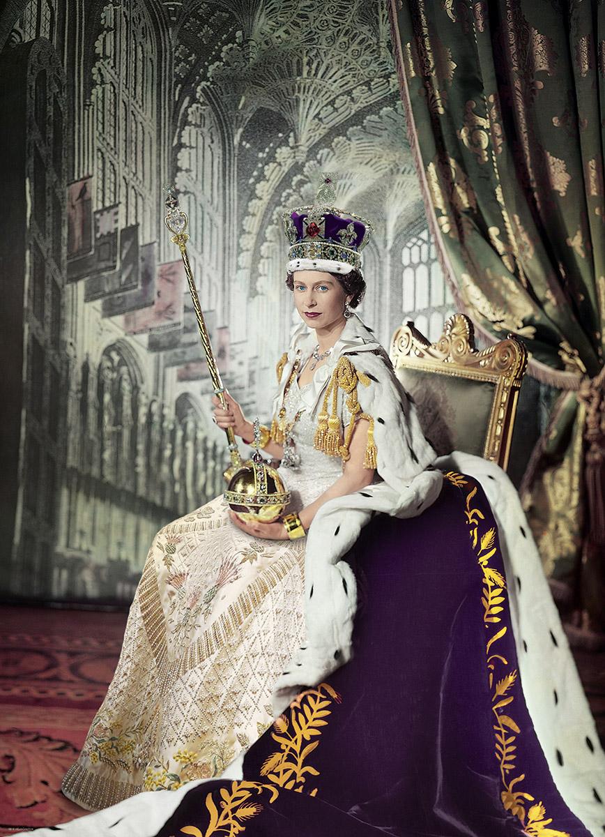 Queen Elizabeth II Famous People Jigsaw Puzzle