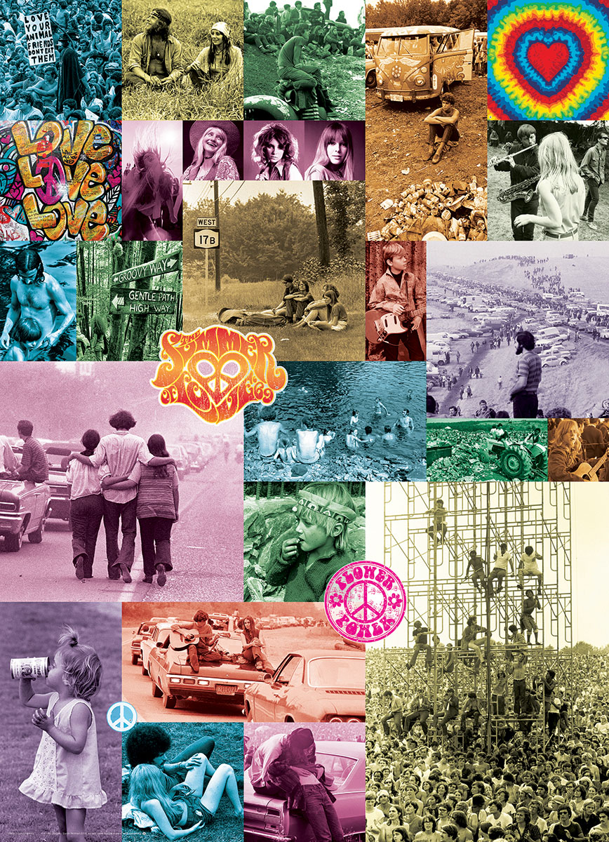 60s Love Collection Jigsaw Puzzle | PuzzleWarehouse.com