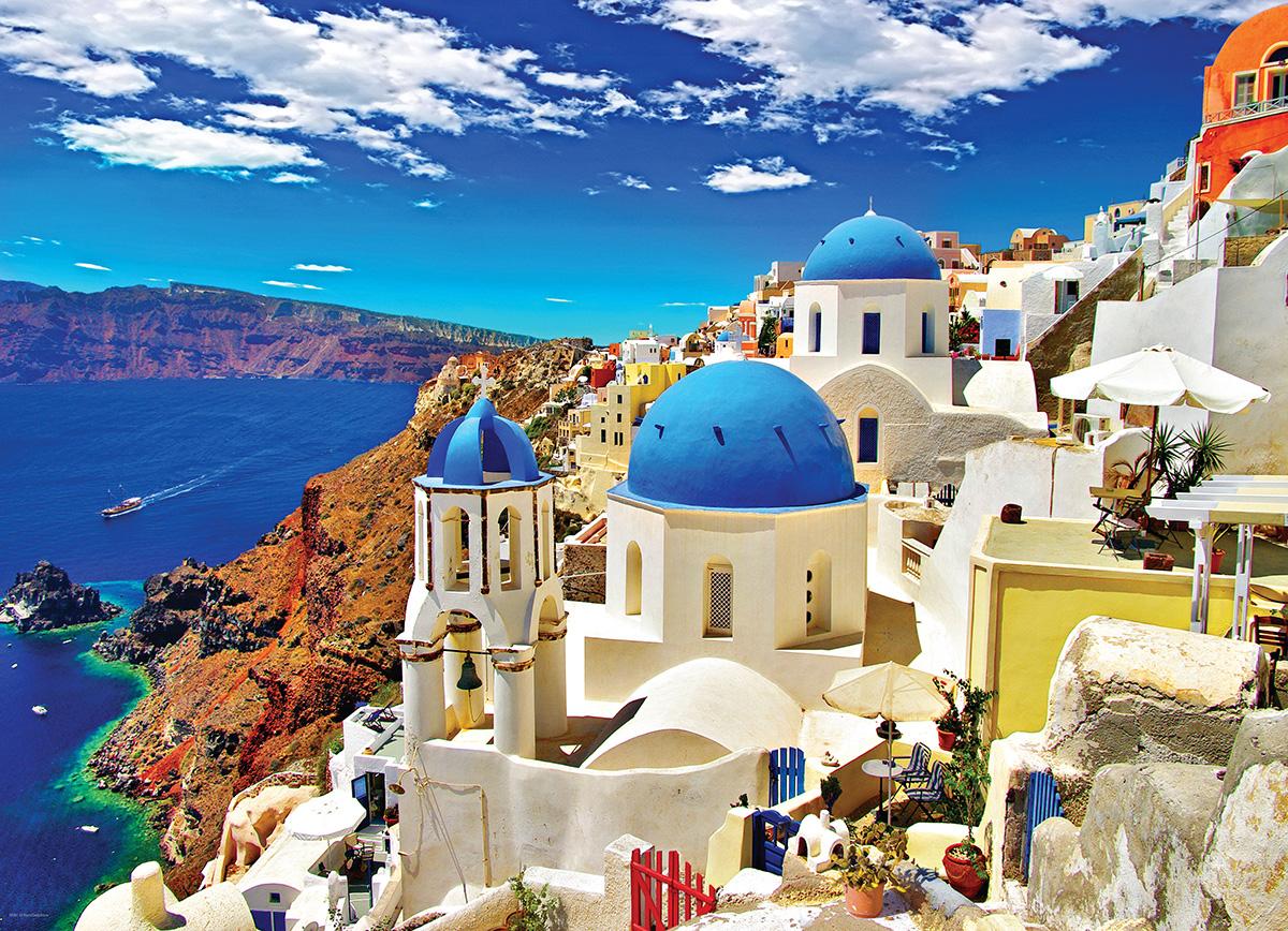 Oia Santorini Greece Greece Jigsaw Puzzle