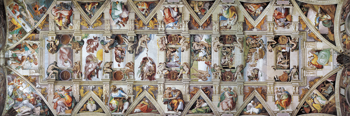 The Sistine Chapel Ceiling Religious Jigsaw Puzzle