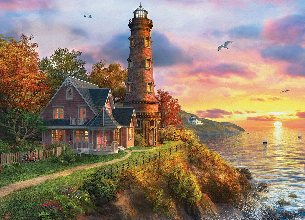 The Old Lighthouse Lighthouses Jigsaw Puzzle