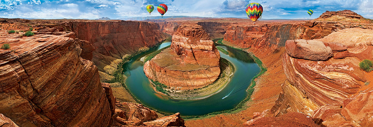Horseshoe Bend, Arizona Landscape Jigsaw Puzzle