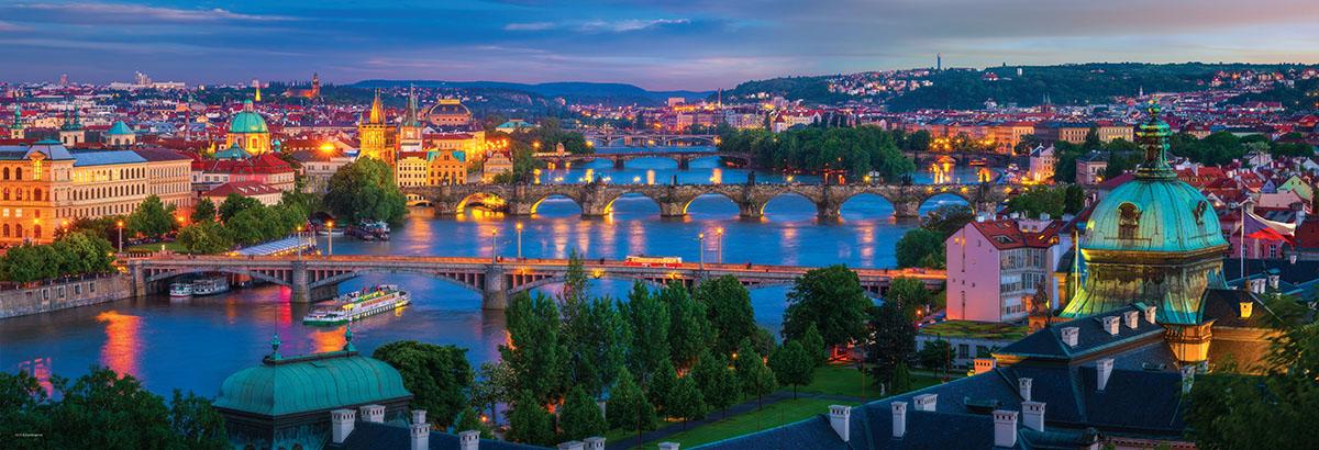 Prague Czech Republic Skyline / Cityscape Jigsaw Puzzle