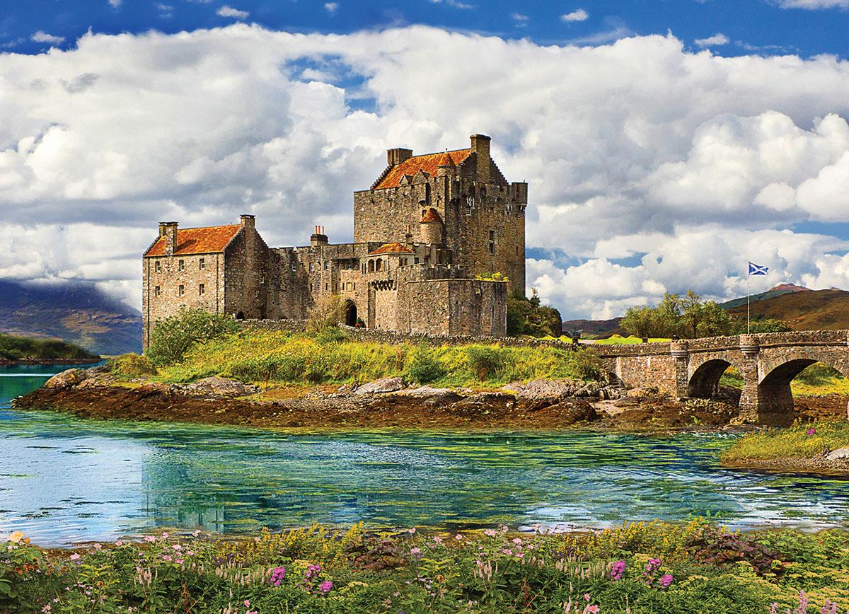 Eilean Donan Castle - Scotland Castles Jigsaw Puzzle