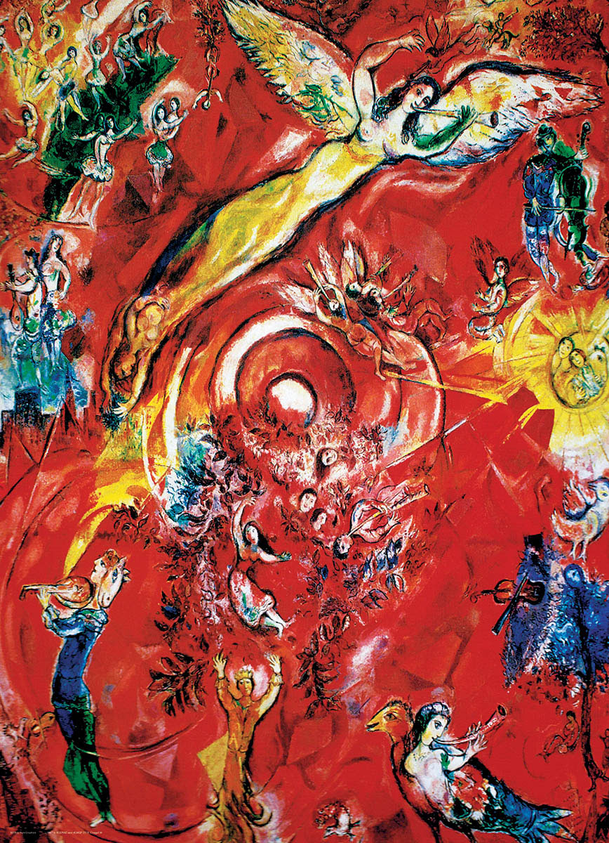The Triumph of Music by Chagall Music Jigsaw Puzzle