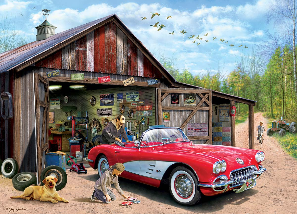 Out of Storage Cars Jigsaw Puzzle