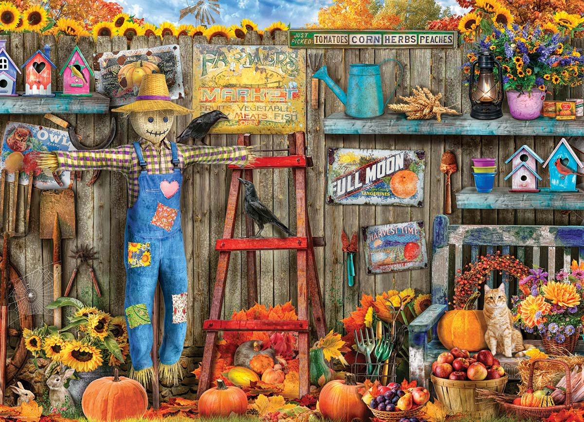 Harvest Time Halloween Jigsaw Puzzle