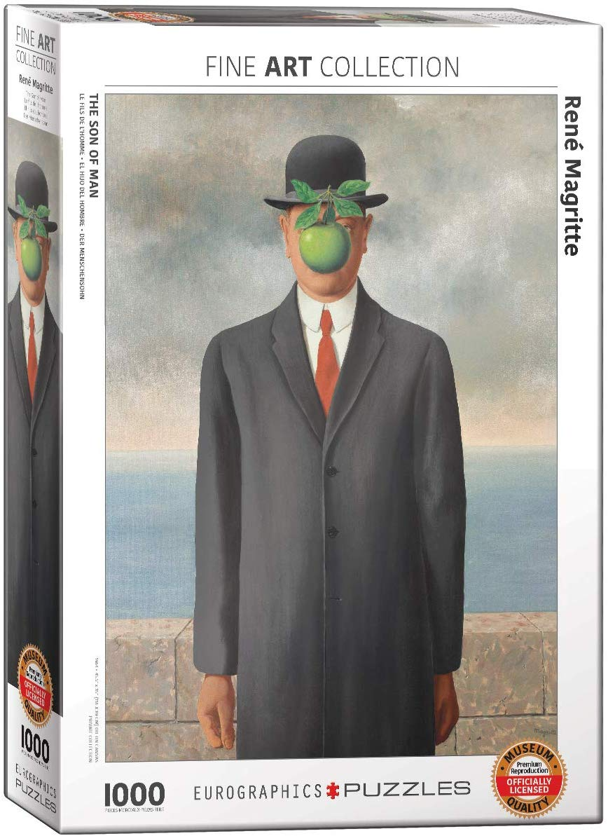 Son of Man Fine Art Jigsaw Puzzle