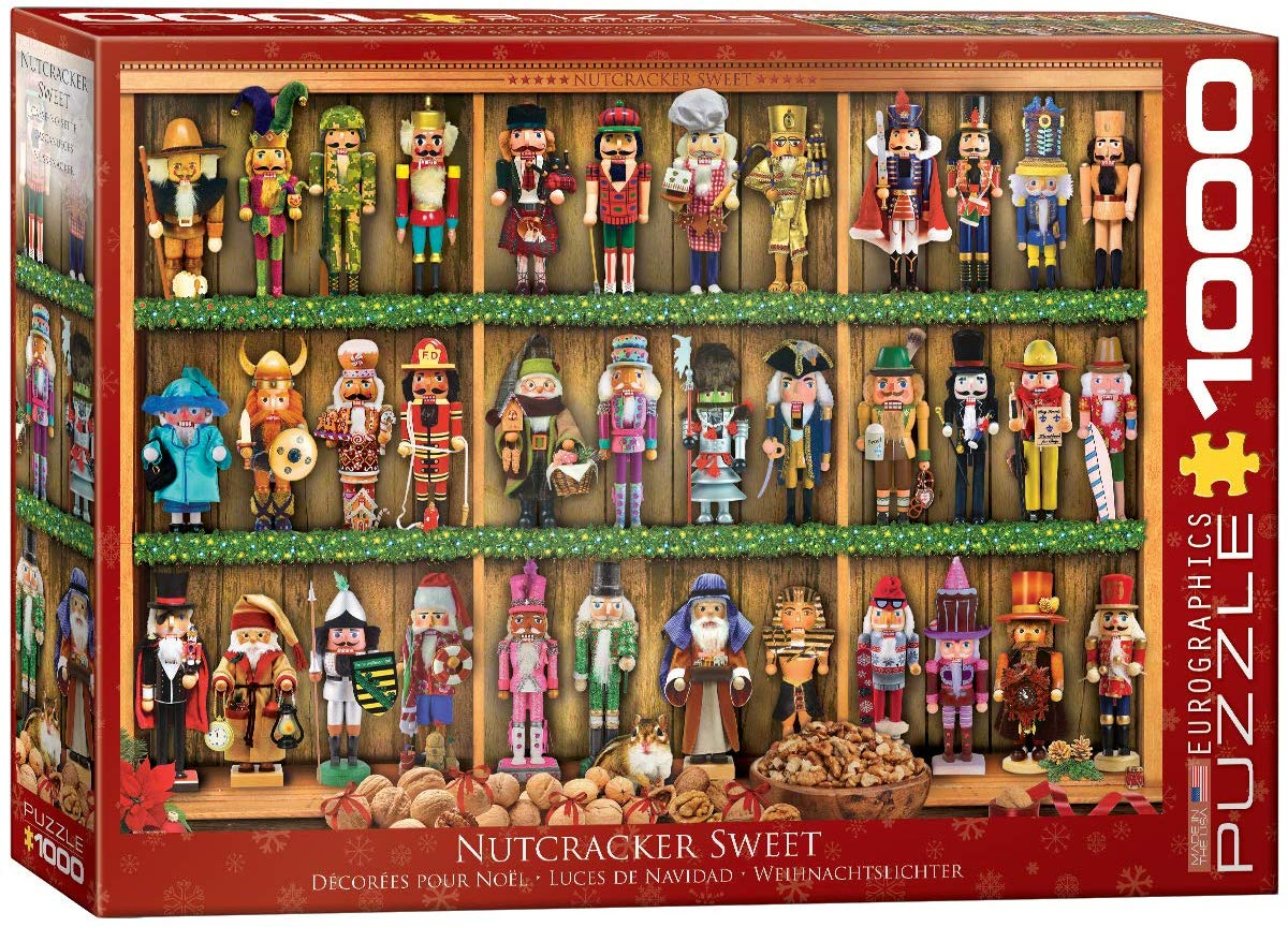 Nutcracker Soldiers Christmas Jigsaw Puzzle