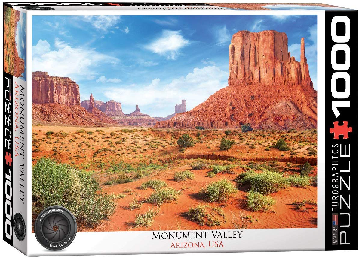 Monument Valley Landscape Jigsaw Puzzle