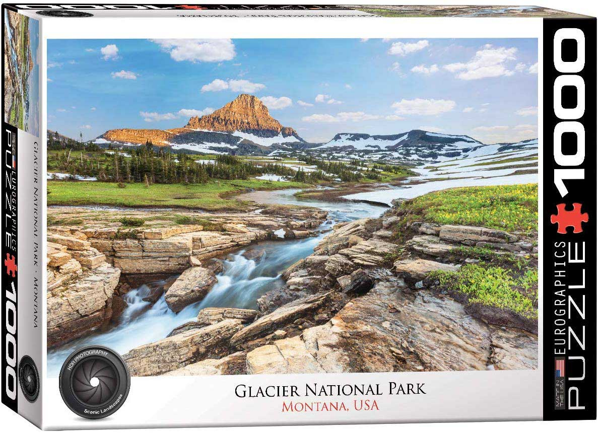 Glacier National Park Mountains Jigsaw Puzzle