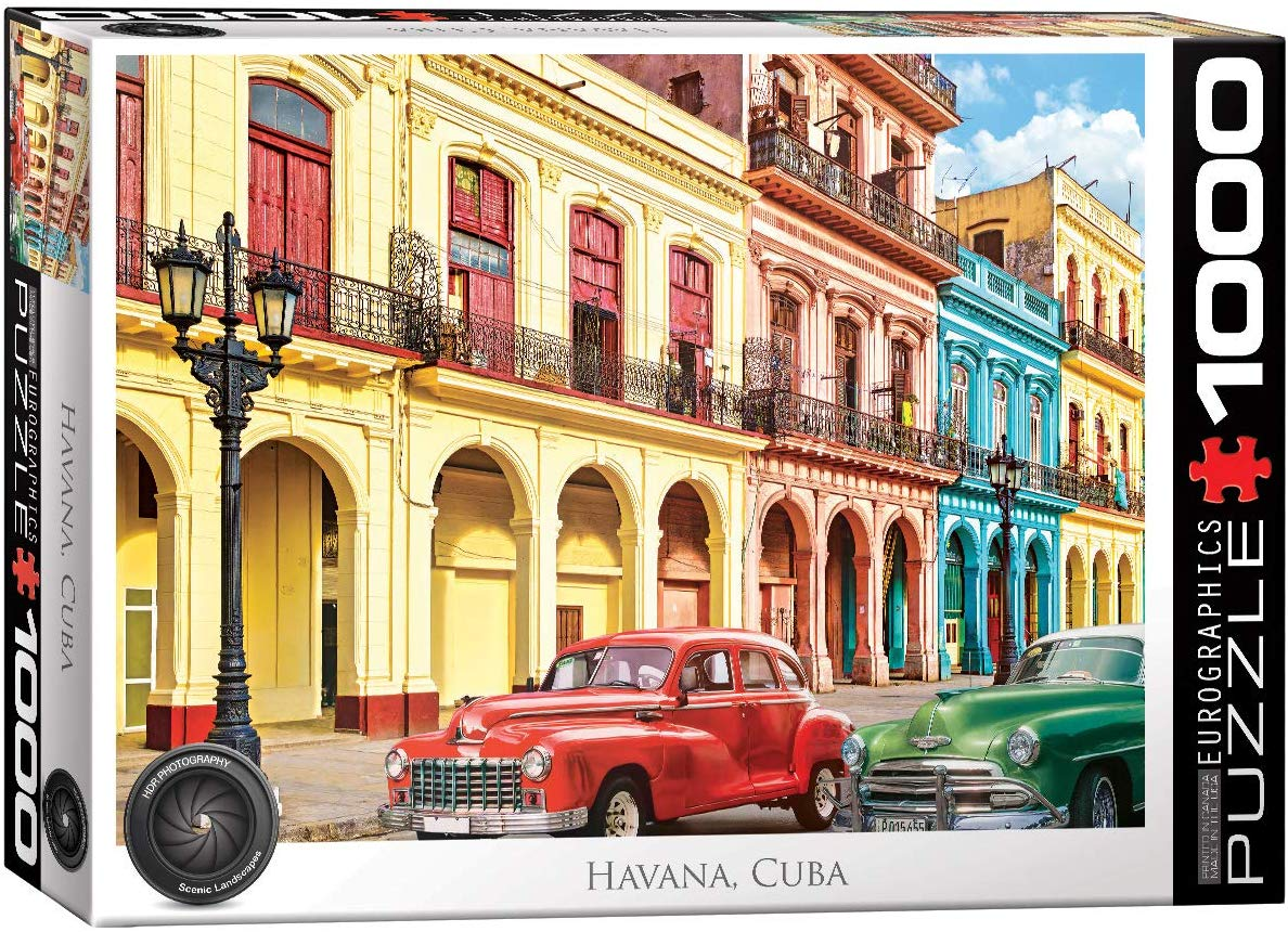 La Havana, Cuba Travel Jigsaw Puzzle
