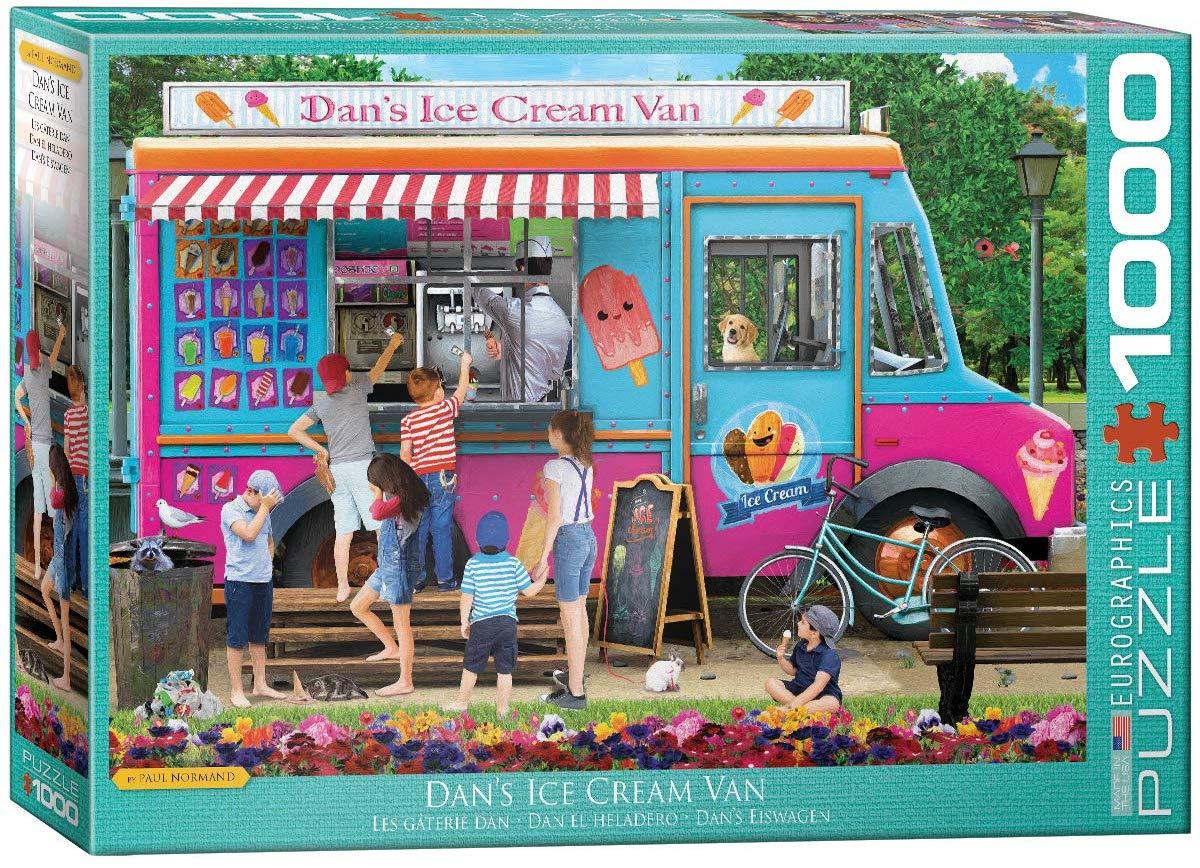 Dan's Ice Cream Van Cars Jigsaw Puzzle