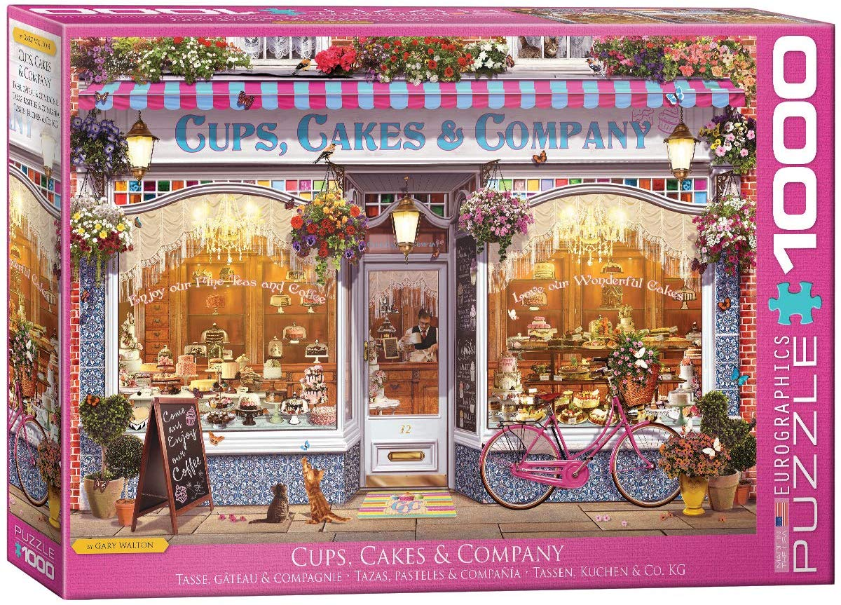 Cups, Cakes & Company Sweets Jigsaw Puzzle