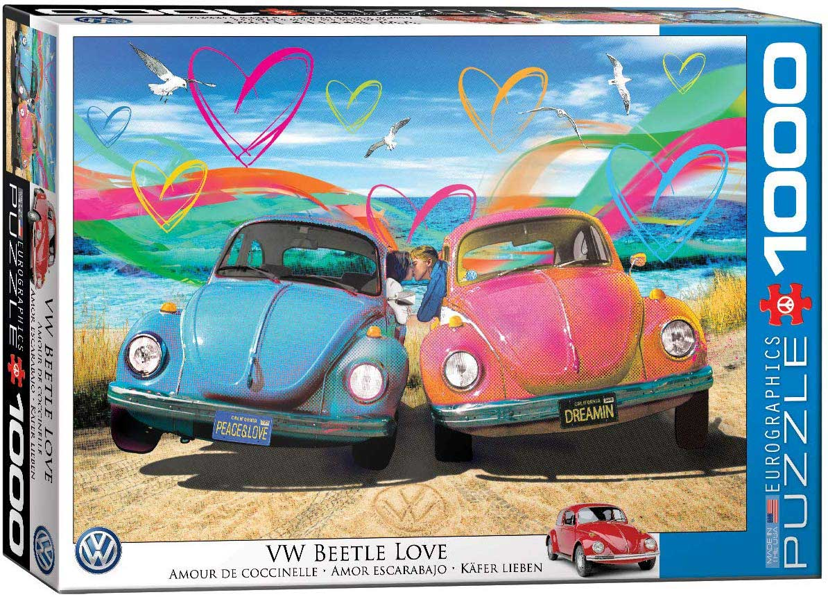 Beetle Love Beach Jigsaw Puzzle
