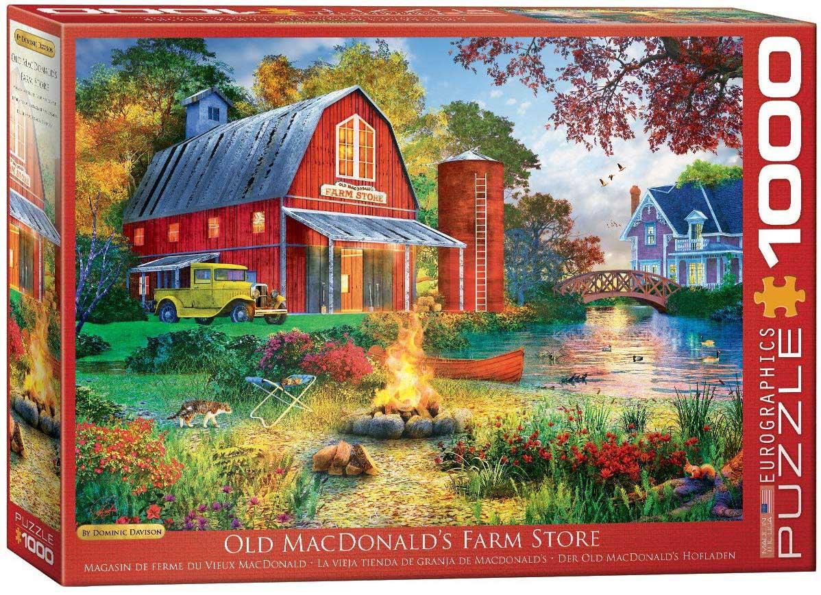 Old MacDonald's Farm Store Farm Jigsaw Puzzle