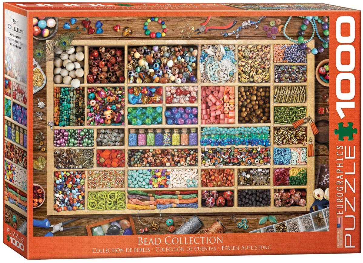 Laura's Bead Collection Crafts & Textile Arts Jigsaw Puzzle