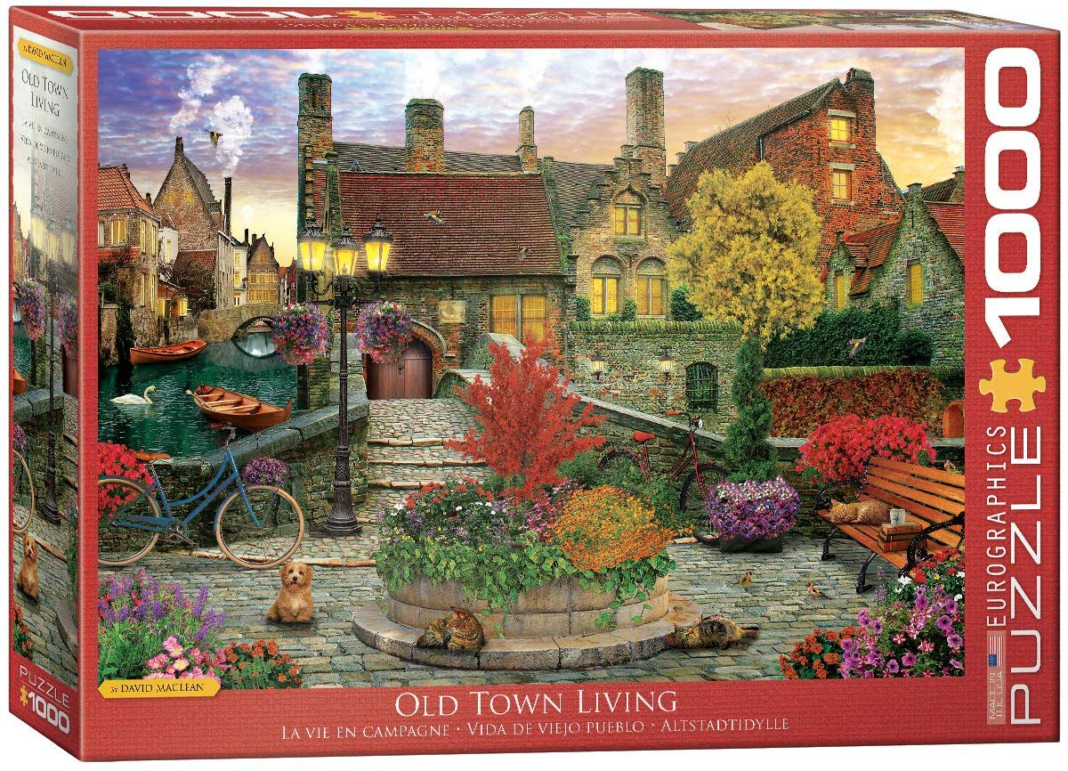 Old Town Living Nostalgic / Retro Jigsaw Puzzle