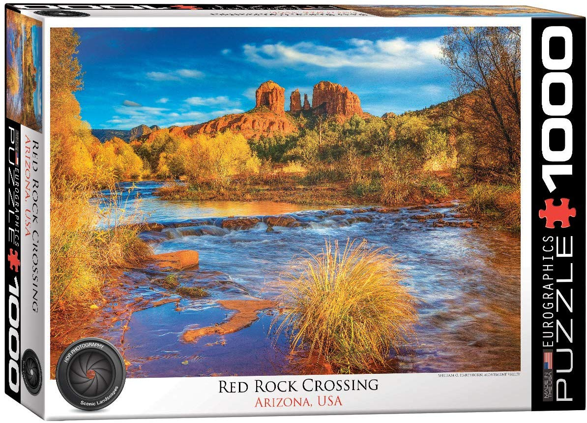 Red Rock Crossing Landscape Jigsaw Puzzle