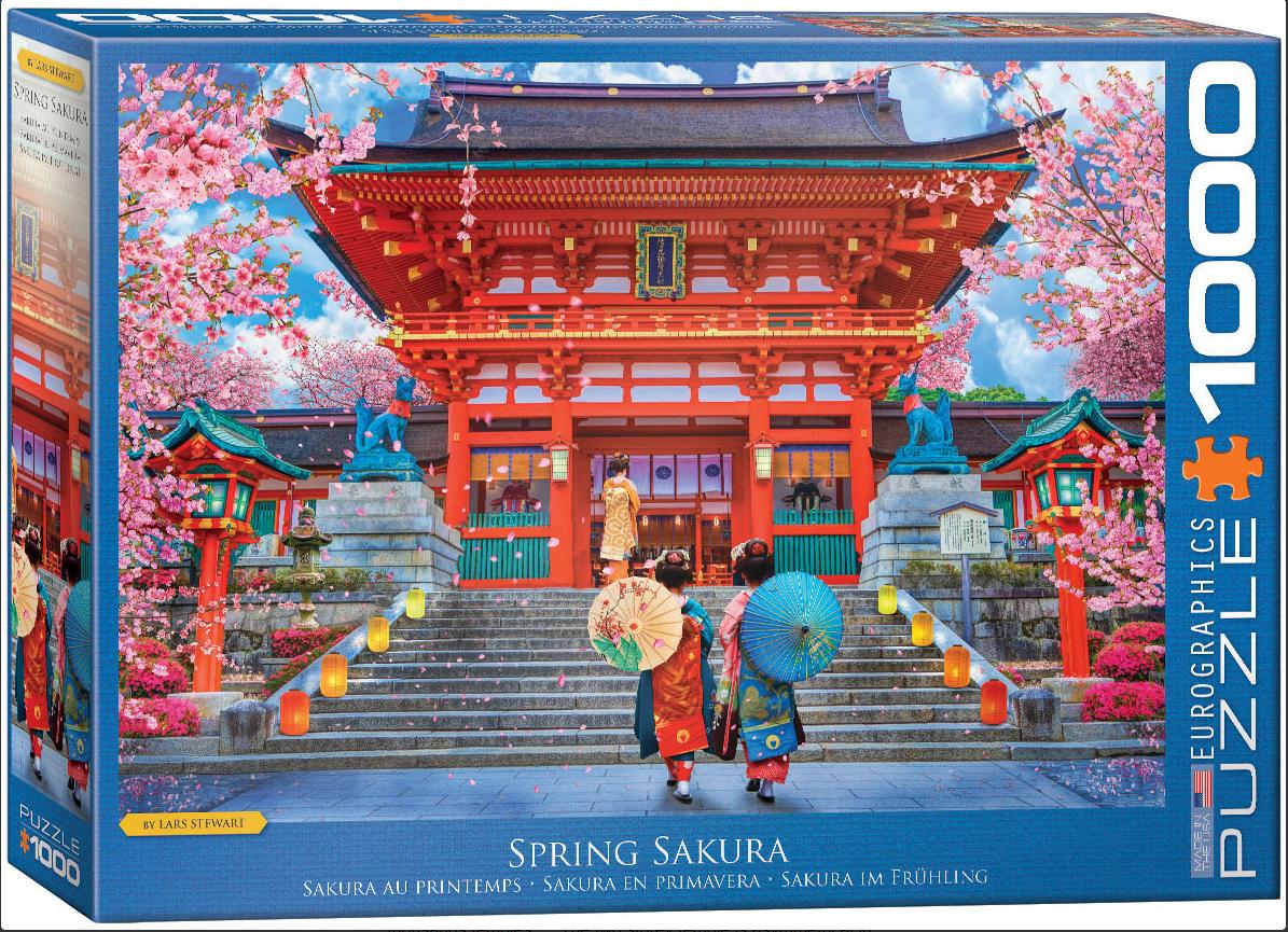 Spring Sakura Photography Jigsaw Puzzle