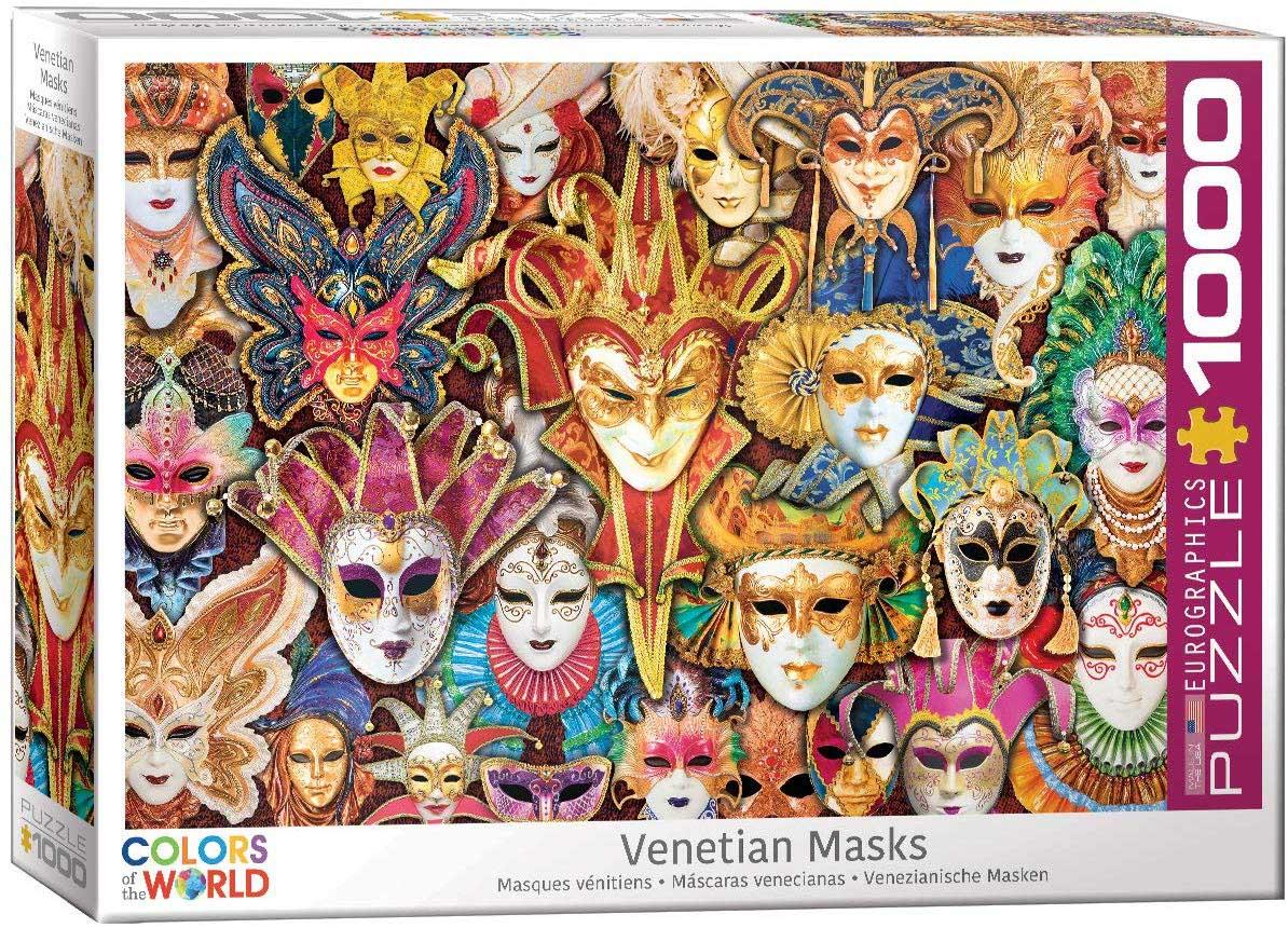 Venetian Masks Cultural Art Jigsaw Puzzle