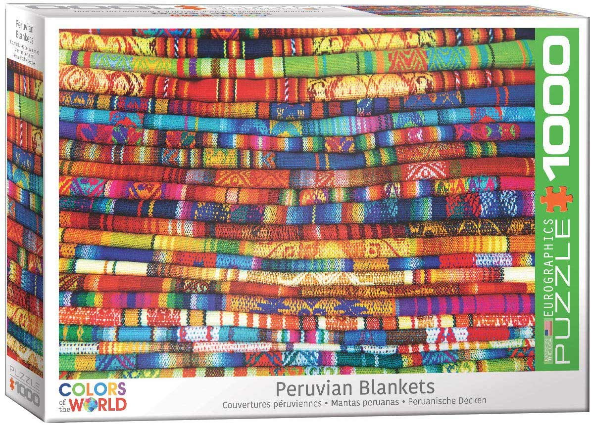 Peruvian Blankets Crafts & Textile Arts Jigsaw Puzzle