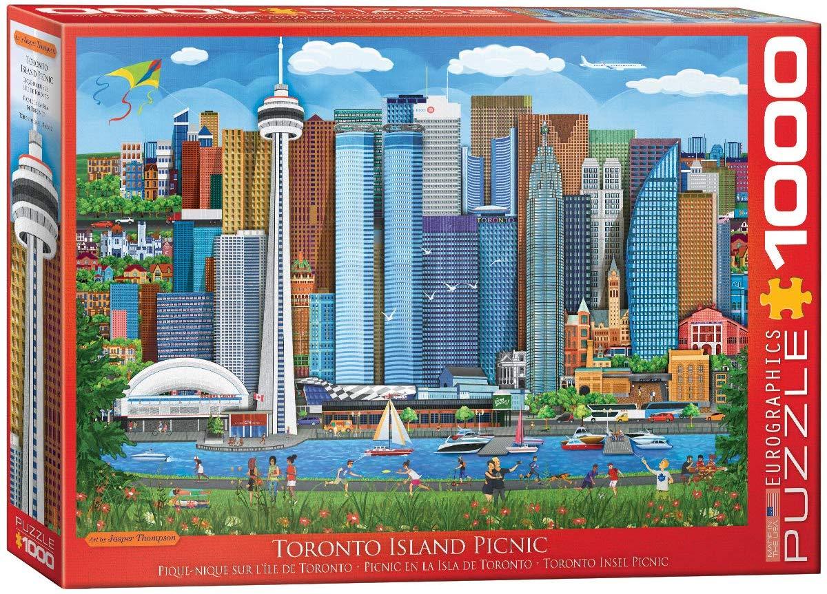 Toronto Island Picnic Canada Jigsaw Puzzle