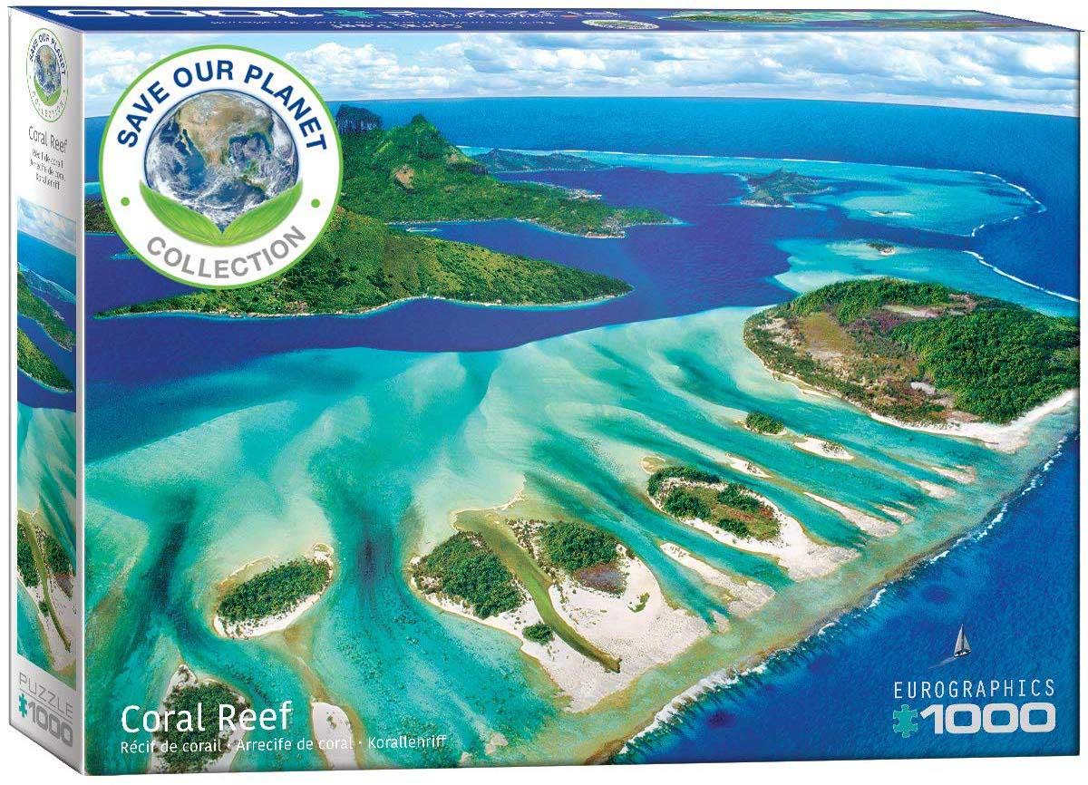 Save the Planet! Ocean Seascape / Coastal Living Jigsaw Puzzle