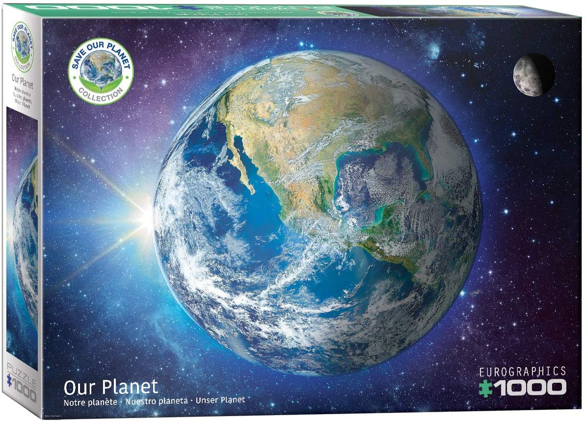 Save the Planet! The Earth Space Jigsaw Puzzle