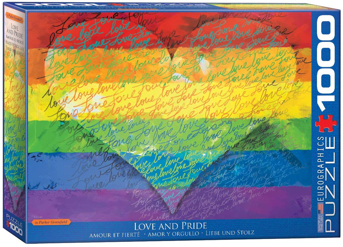 Love & Pride! Graphics / Illustration Jigsaw Puzzle